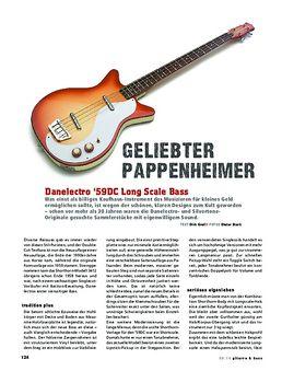DC Longscale Bass BK