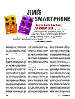 Source Audio L.A. Lady / Kingmaker Fuzz