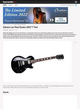 Les Paul Studio T 2017 EB