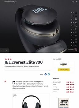 JBL by Harman Everest Elite 700 Black