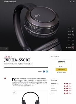 JVC HA-S50BT Black