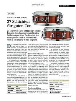 """AS 16 13""""x05"""" Tineo Snare Drum"""