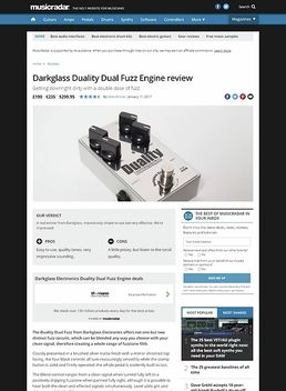 Darkglass Duality Dual Fuzz Engine