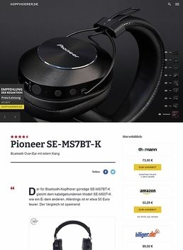 Pioneer SE-MS7BT-K Black