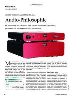 SPL PRO-FI DIRECTOR & PERFORMER S800