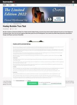 Keeley Bubble Tron