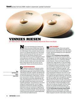 Paiste Formula 602 Modern Essentials Cymbal-Neuheiten