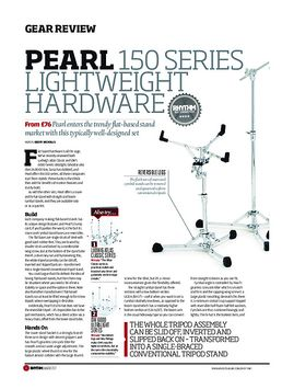 Pearl 150 Series Lightweight Hardware