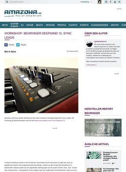Workshop: Behringer DeepMind 12, Sync Leads