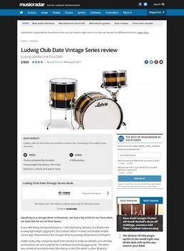 Ludwig Club Date Vintage Series