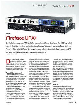 RME Fireface UFX+