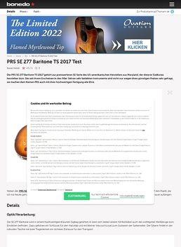 PRS SE 277 Baritone TS 2017