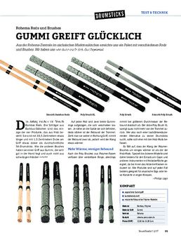 Rohema Rods und Brushes