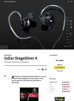 InEar StageDiver SD-4