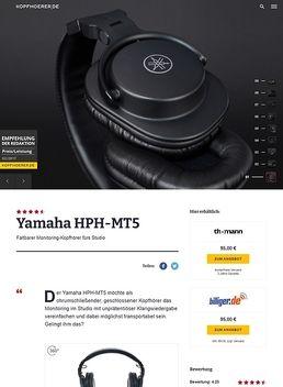 Yamaha HPH-MT5