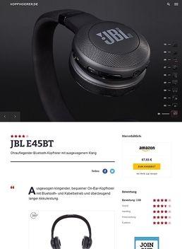 JBL by Harman E45 BT Black