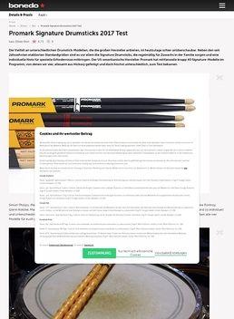 Promark Signature Drumsticks 2017