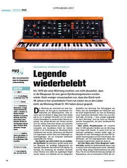 Moogmusic Minimoog Model D: Legende wiederbelebt