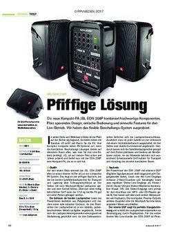 JBL EON 208P: Pfiffige Lösung