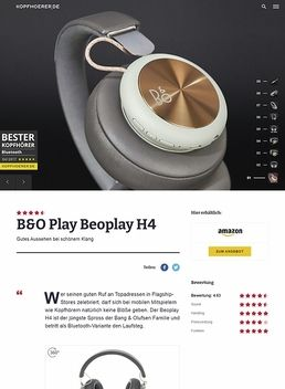 B&O Play H4 Charcoal Grey