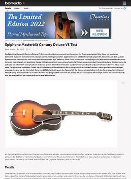 Masterbilt Century Deluxe VS