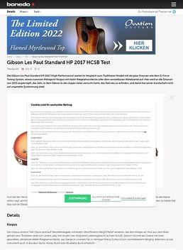 Gibson Les Paul Standard HP 2017