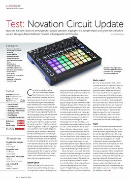 Novation Circuit Update