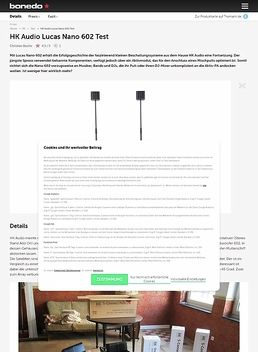 Lucas Nano 602 Stereo System