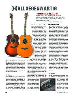 Yamaha LL-TA & LS-TA