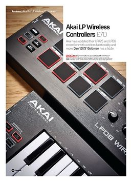 Akai LP Wireless Controllers