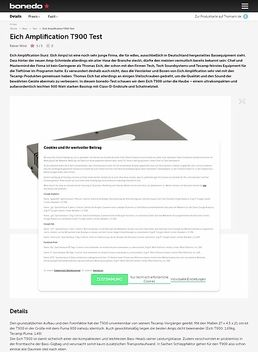 Eich Amplification T900
