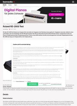 Roland RD-2000 Test