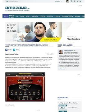 Test: Spectrasonics Trilian Total Bass
