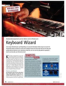 Maximum Check: Keyboardmanagement auf der Bühne und im Proberaum – Keyboard Wizard