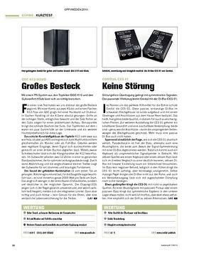 Kurztests: QSC K12/KSub; Cordial CES01; JB Systems Taurus