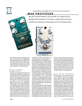 Mad Professor Snow White AutoWah & Forest Green Compressor