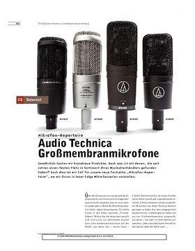 Audio Technica Großmembranmikrofone