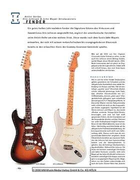 Fender John Mayer & Eric Johnson Stratocasters, E-Gitarren