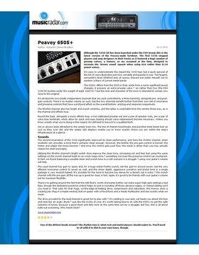 Peavey 6505+