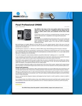Focal Professional CMS65