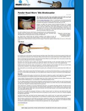 Fender Road Worn '50s Stratocaster