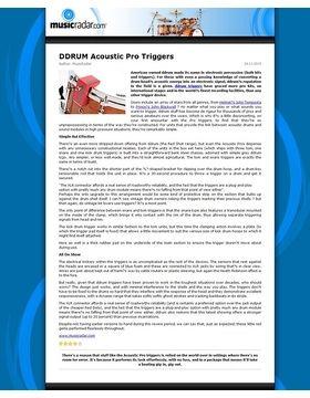 DDTKIT Acoustic Trigger SetPro