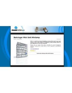 Behringer Mini Unit Miniamp