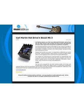 Carl Martin Hot Drive'n Boost Mk 3