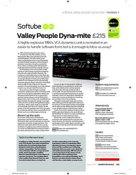 Softube Valley People Dynamite