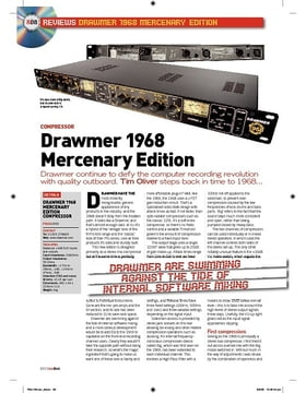 Drawmer 1968 Mercenary Edition