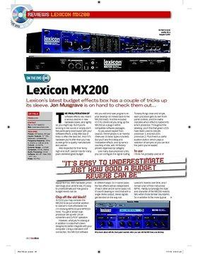 Lexicon MX200