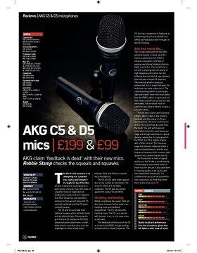 AKG C5 Mic