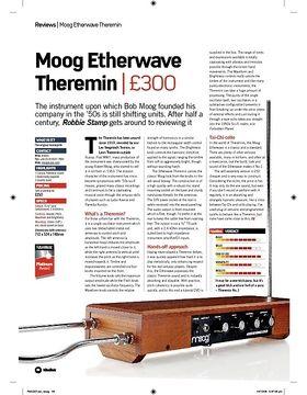 Moog Etherwave Theremin