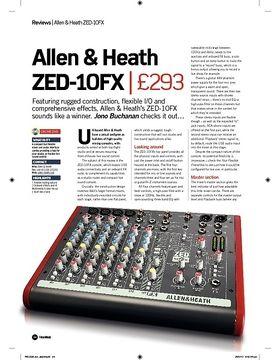Allen and Heath ZED10FX